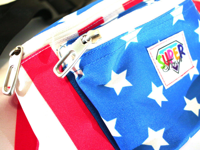 Waist Pouch (stars/stripes)