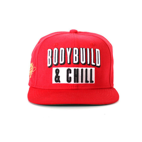 Bodybuild & Chill Snapback