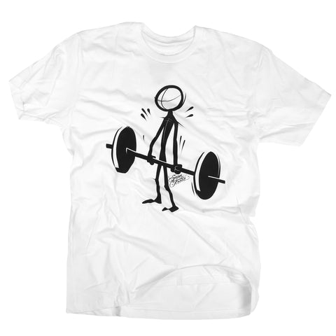 Deadlift (Stick)<br> [tee]<br> (white)