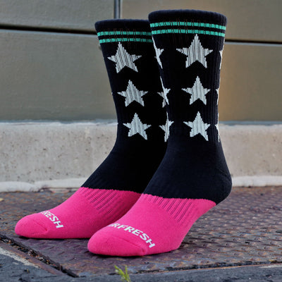 Dip Crew Socks (Cotton Candy)