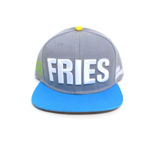 Medium-sized Fries snapback<br> (grey)