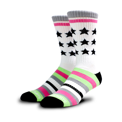 V2 Remixed Crew Socks