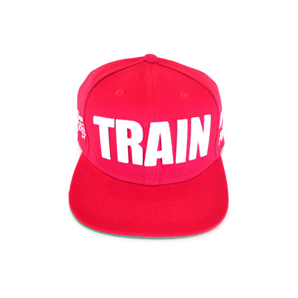Train Snapback<br> (red)