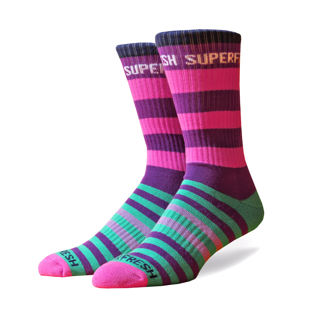 Wonka Crew Socks (Wonderland)