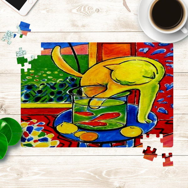 Henri Matisse Cat With Red Fish Jigsaw Puzzle