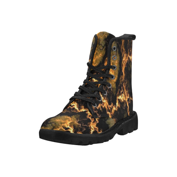 Blazing Sky Canvas Boots