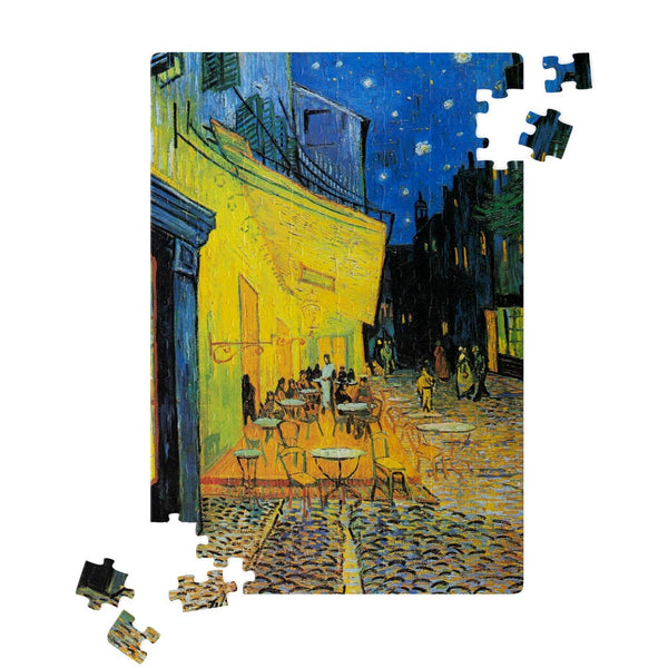 Cafe Terrace by van Gogh Jigsaw Puzzle