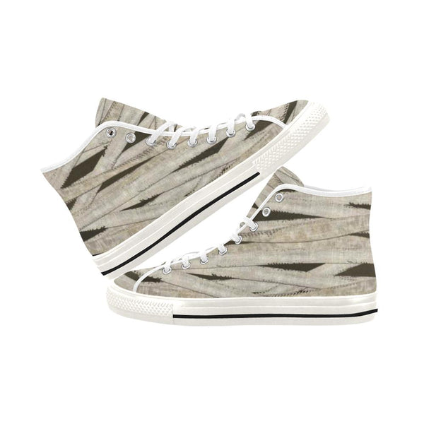 Mummy Wraps High Top Canvas Shoes