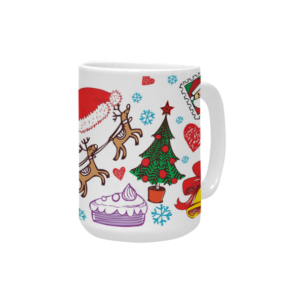 Christmas Playtime 15 oz Ceramic Mug Ceramic Mug (Made In USA)