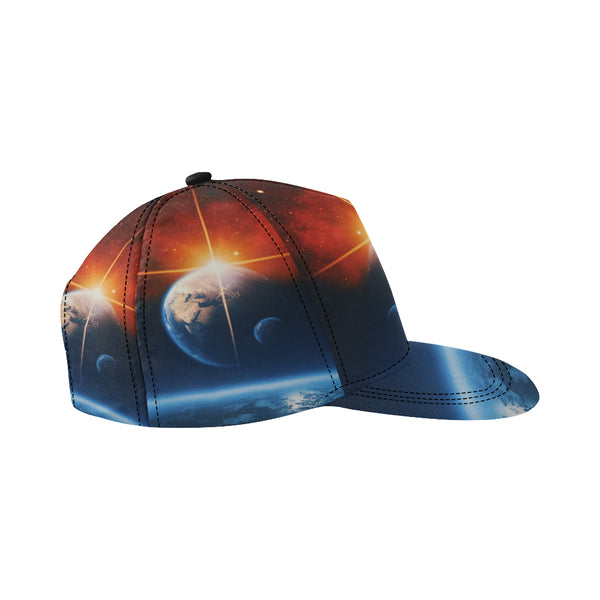 Beautiful Planet Snapback Cap