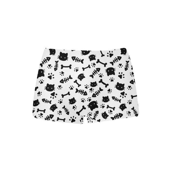 Cats and Bones Boyshort Undies