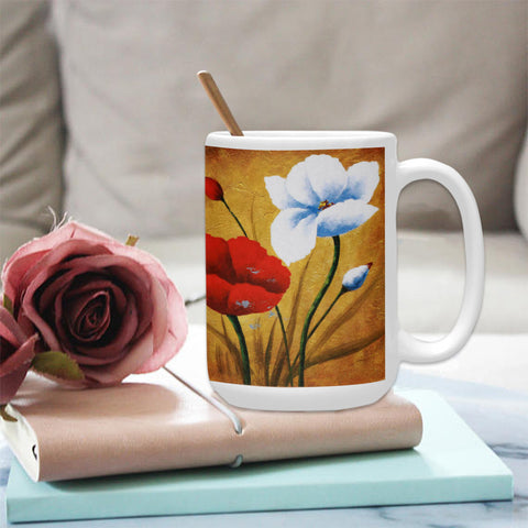 Beautiful Morning 15 oz. Ceramic Mug