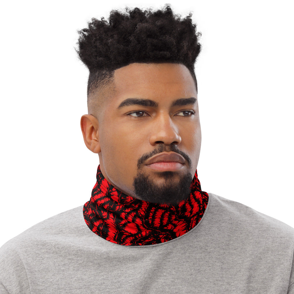Red Thorn Neck Gaiter