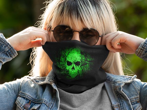 Neon Darkness Neck Gaiter