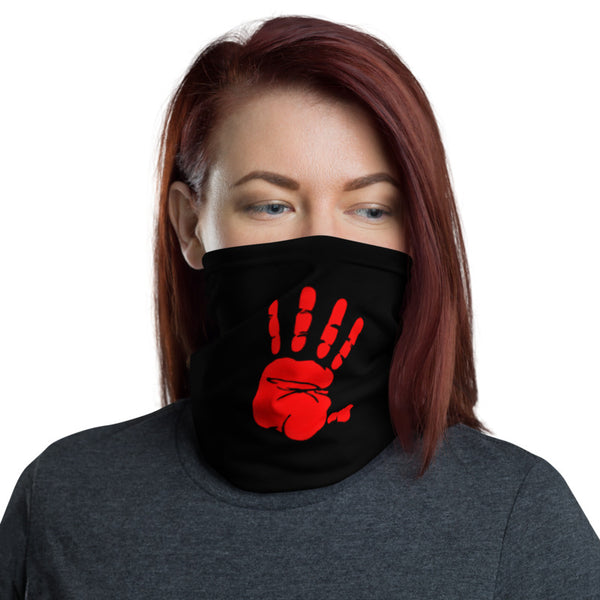 The Red Hand Neck Gaiter