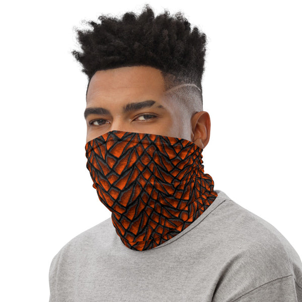 Molten Dragon Scale Neck Gaiter