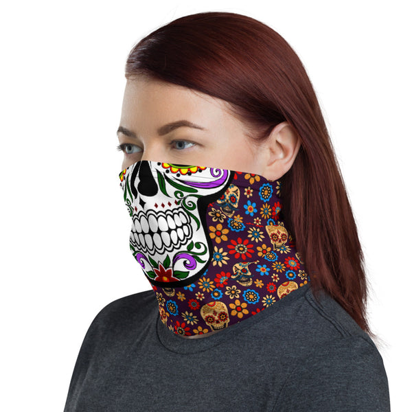 Day of The Dead Neck Gaiter