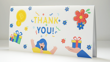 "Load image into Gallery viewer, Bitcoin Gift Card ""Thank You"" Design"