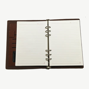 Spiral Flaunt Moochwala Notebook - Brown