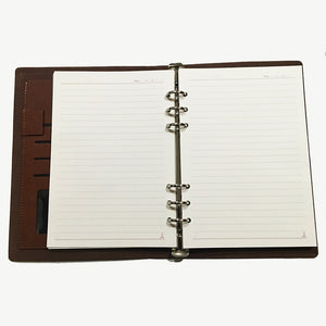 Spiral Flaunt Matka Selfie Notebook - Brown