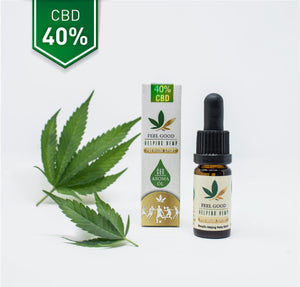 CBD Vollspektrum Hanf Aroma Öl 40% - CBD Feelgood