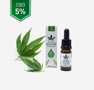 CBD Vollspektrum Hanf Aroma Öl 5% - CBD Feelgood