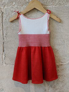 Wonderful Vintage Knitted Dress - 3 Months
