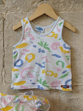 Load image into Gallery viewer, Amazing 80s Retro Pastel Print Vest Baby Clothes