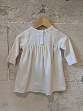 Load image into Gallery viewer, Preloved Baby DPAM French Cream Dress A-Line So Soft 0-6 Months