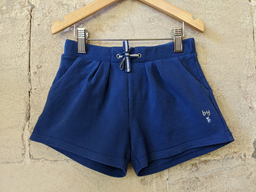 Blue French Preloved-Kids-Okaidi-Girls-Shorts-Age 6Years