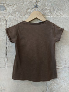 CFK-French-Soft-Brown-Girl's-Preloved-Top-3-4Years