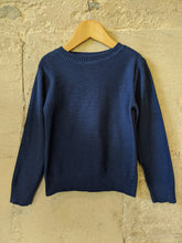 Load image into Gallery viewer, French Blue Preloved Jumper 4 years