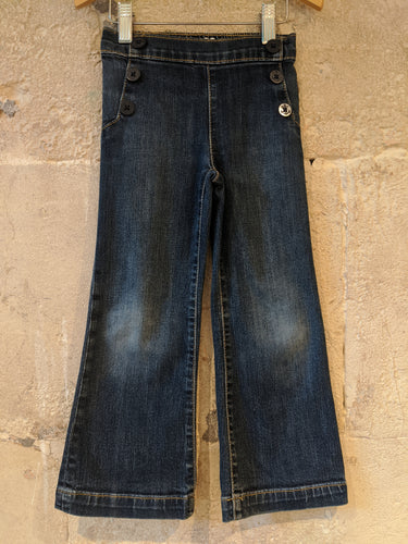 Gap cool preloved flared jeans age 5