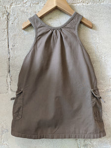 Petit bateau Preloved Sale Pinafore Dress Pockets Cool Designer Age 2