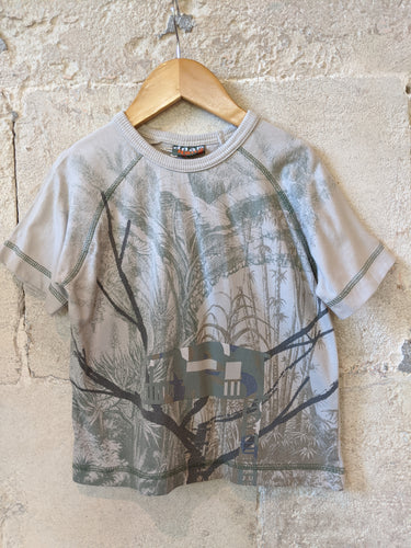 French-Preloved-DPAM-Treehouse-Child's-TShirt-4Years