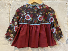 Load image into Gallery viewer, Beautiful French Baby Tunic Flowers, Sweets, Sparkly Design 18 Months