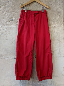IKKS Designer Red Trousers Sale