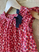 Load image into Gallery viewer, Beautiful Poppy Print Jacadi Dress - 6 Months
