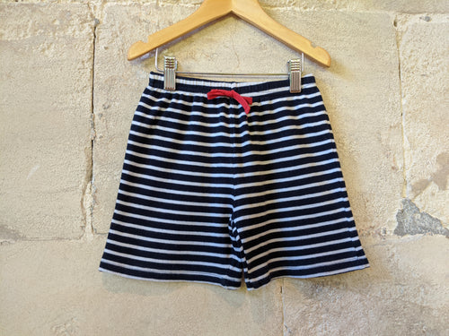 JoJOMaman Striped Preloved Kids Shorts Navy Blue