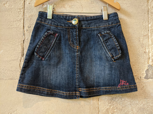 Little Joule Preloved Denim Skirt Girls Preloved Clothing 5-6 years