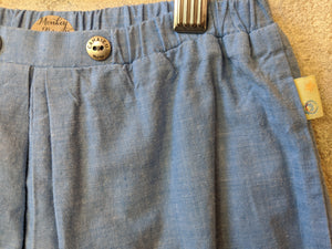 Soft Blue French Seaside Trousers 3 Months