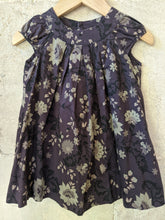 Load image into Gallery viewer, Bout'Chou cotton A-Line Floral Dress 12 Months