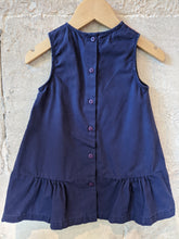 Load image into Gallery viewer, Cute Little Duck French Cotton Summer Dress 12 Months