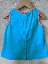 Load image into Gallery viewer, Vibrant French Blue Summery Tunic - 12 Months