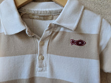 Load image into Gallery viewer, Weekend  à La Mer Striped Cotton Polo Shirt 12 Months