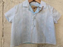 Load image into Gallery viewer, French Antique Shirt with Broderie Panelling 12 Months