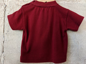 Weekend à La Mer Comfy Red T Shirt 3 Months