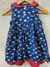 Load image into Gallery viewer, Fab French Vintage Seaside Romper Dress 6 Months