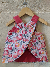 Load image into Gallery viewer, Reversible Scandi Retro Print Tunic 6 Months