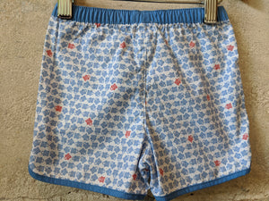 NEW Little Turtle Print French Cotton Shorts 6 Months